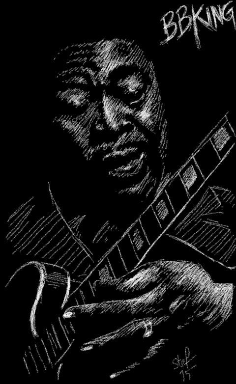 B.B. King by stefart